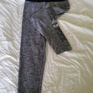 PINK ultimate capris grey size L
